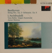 Trio for violin, viola and violoncello in E-flat major, op.3