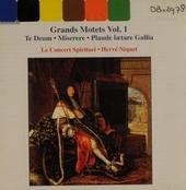 Grand motets. Vol. 1