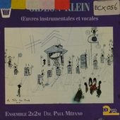 Oeuvres instrumentales et vocales