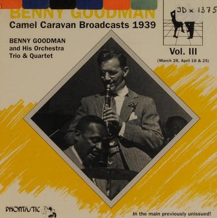 Camel caravan br.casts. vol.3 1939