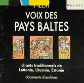 Chants trad. de lettonie, lituanie