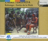 Zaïre : Ekonda : Bobongo ; Sortie de la Walé