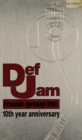 DefJam music group inc. 10th year anniversary