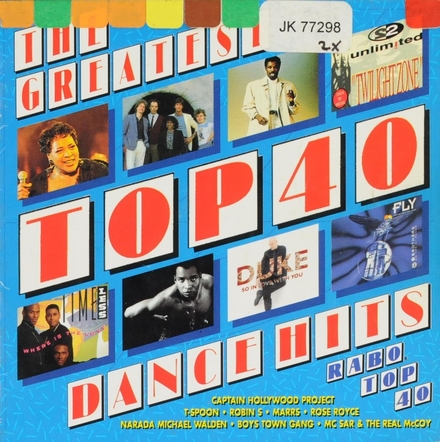 The greatest top 40 dance hits