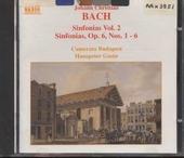 Sinfonias : sinfonias, op. 6, nos. 1-6. Vol. 2