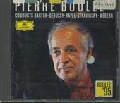 Pierre Boulez 1995 conducts