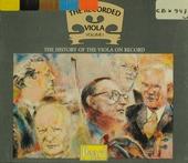 The recorded viola. vol.1