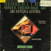 Sonatae , violino solo, 1681