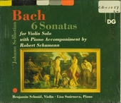 Six sonates for violin and piano
