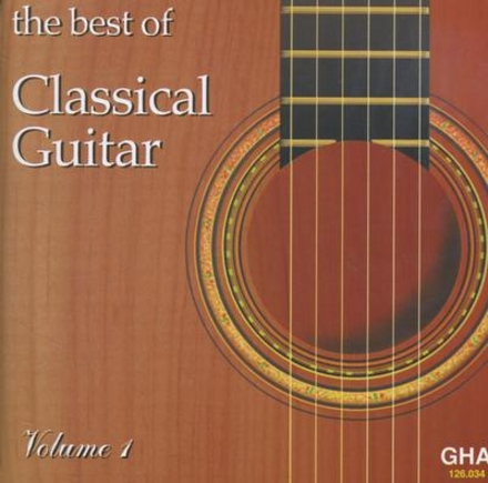 The best of classical guitar. vol.1