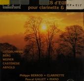 Musiques d'Europe pour clarinette et piano