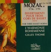 Divertimenti for three basset horns