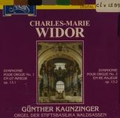 Symphonie pour orgue no.1 op.13,1. vol.1