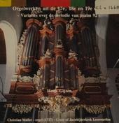 Orgelwerken uit de 17e, 18e en 19e eeuw