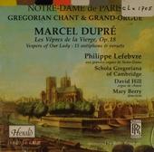 Les vepres de la Vierge, op.18