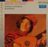 Virtuoso chamber music 16th century