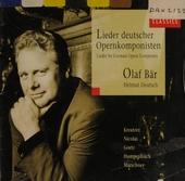 Lieder deutscher Opernkomponisten