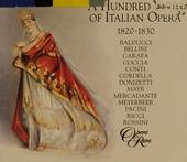 A hundred years of Italian opera 1820-1830