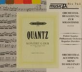 Flötenkonzert G dur QV.5:174