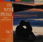Una notte speciale : mit Hits vom San Remo Festival 1995. vol.5