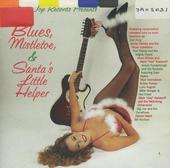 Blues, mistletoe, & Santa's little helper