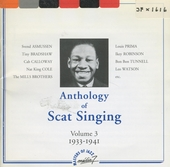 Anthology of scat singing : 1933-1941. vol.3