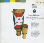 Sacred drums : the Rukinzo legacy, Burundi