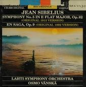 Symphony no.5 in E flat major, op.82