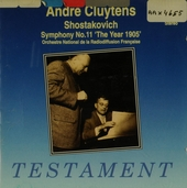 André Cluytens conducts Shostakovich