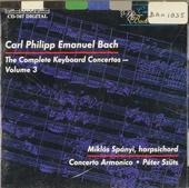 Complete keyboard concertos. Vol. 3