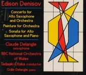 Concerto for alto saxophone and orchestra, etc.