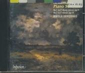 Piano sonata in f sharp minor, op.11