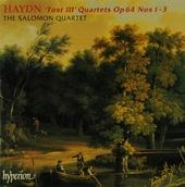 """""""Tost III"""" quartets op.64 no.1-3"""