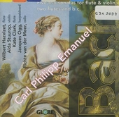 5 Trio sonatas for flute & violin, two flutes and b.c.