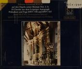 Johann Sebastian Bach auf den Orgeln seiner Heimat. vol.2