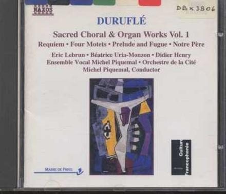 Sacred choral & organ works. vol.1