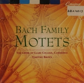 Bach family motets