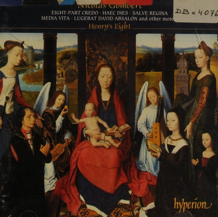 Eight part credo, salve regina and other motets