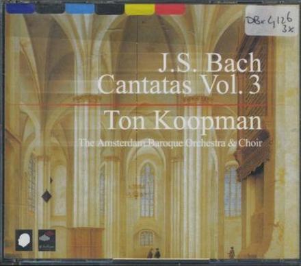 Complete cantatas. Vol. 3