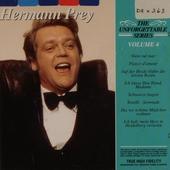 The unforgettable Hermann Prey. vol.4