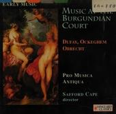 Music at the Burgundian court