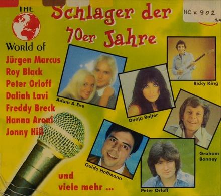 The world of Schlager der 70er Jahre
