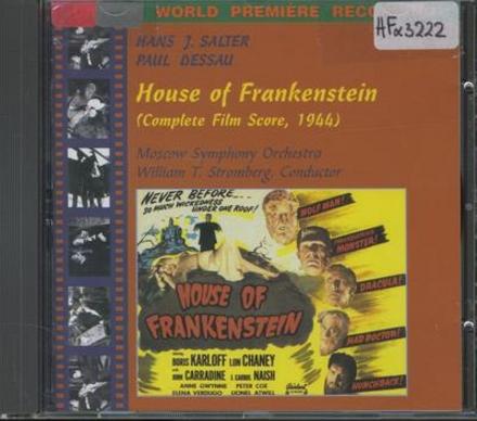House of Frankenstein : complete film score, 1944
