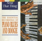 Piano blues and boogie