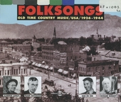 Folksongs : old time country music USA 1926-1944