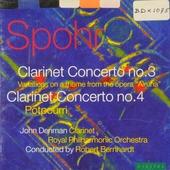Clarinet Concertos nos.3 & 4