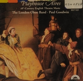 Playhouse aires : 18th-century english theatre music