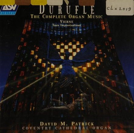 The complete organ music