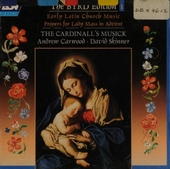 Early Latin church music