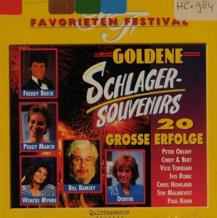 Goldene Schlagersouvenirs